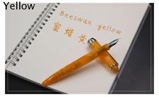 Screw cap fountain pen Shanghai Medium thick pen LORELEI YELLOW