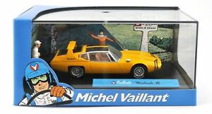 Michel Vaillant -Voiture de collection neuve-Mistral GT-Métal injecté-En vitrine
