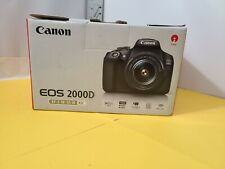 Canon EOS 2000D / Rebel T7 24.1MP CMOS 1080p DSLR Camera + EF-S 18-55mm Lens