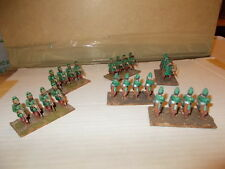 UNBRANDED 25/28MM PAINTED METAL ANCIENT PERSIAN? ARCHERS - 24 BASED IN 4S