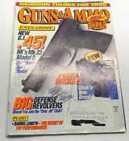 Guns & Ammo Magazine January 1996 Back Issue Big Defense Revolvers
