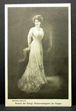 Ida Hanger ópera cantante Portrait de Eduard daelen-autógrafo-ak (lot-h-4443