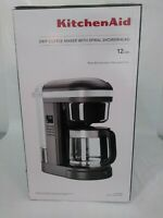 KitchenAid 12 Cup Drip Coffee Maker with Spiral Showerhead, KCM1208
