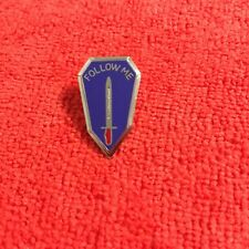 Us Army Infantry School Fort Benning, Georgia Follow Me Hat Pin