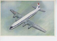 Postcard 1298 - Aircraft/Aviation KLM Douglas DC-6B