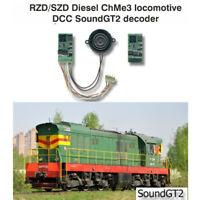 SZD RZD ChMe3 Soviet diesel SoundGT2 DCC decoder for Roco, Piko, Eurotrain