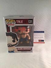 JOE MANGANIELLO SIGNED ALCIDE HERVEAUX TRUE BLOOD FUNKO POP FIGURE PSA DNA