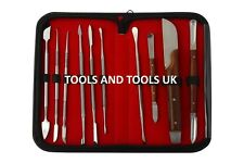 High Quality Dental Lab Instrument Stainless Steel Kit Wax Carving Set 10 Pcs CE