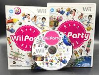 """NINTENDO WII SPIEL"""" WII PARTY Partyspaß """" KOMPLETT"""