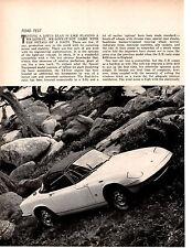 1967 LOTUS ELAN S/E  ~   ORIGINAL 4-PAGE ROAD TEST / ARTICLE / AD