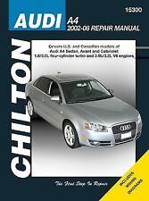 2002-2008 Audi A4 / Avant Chilton Repair Service Workshop Manual Book Guide 8469