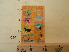 STICKER,DECAL SHEET WITH STICKERS INTRODUCT DISNEY POCAHONTAS 2