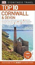 DK Eyewitness Top 10 Cornwall & Devon *FREE SHIPPING*