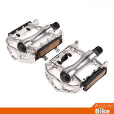 Bike Accessories - One Pair Aluminium Alloy Pedals Flat for Mountain Bike 9/16""