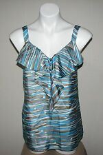 NWT BANANA REPUBLIC Womens 100% Silk Blouse Top Size 6