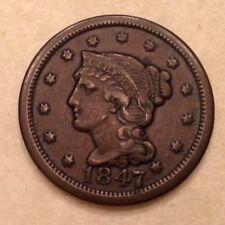 1847 US Large Cent