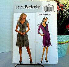 Butterick B5173 Sewing Pattern Maggy London Misses DRESS New Uncut 10-16