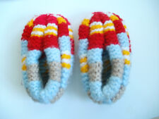 New 100% Hand Knitted Cozy Slippers Many Color Phentex Patik House Shoe Sock Hot