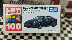 TOMICA #100 TOYOTA CAMRY SPORTS 1/64 SCALE NEW IN BOX [WYL]