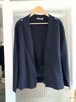 MINT VELVET NAVY BLUE CAPE IN SMALL ONLY WORN ONCE