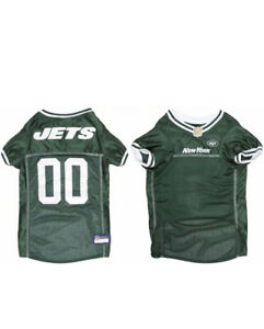 NFL NY Jets Green Game Style Dog Jersey Size Large 20-24""