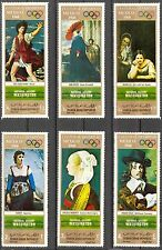 Yemen 1969 Olympics Games Art Paintings Washington MNH**Mi.:998/1001 7,00Eur