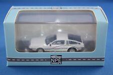 NPE Showcars DeLorean DMC 12 1/87 h0 Incl. SCATOLA ORIGINALE raccolta risoluzione tutto esaurito