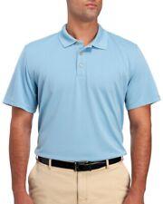 Van Heusen Big & Tall Mens Turquoise Blue Sky Haze Polo Shirt NWT $60 Size 5XLT