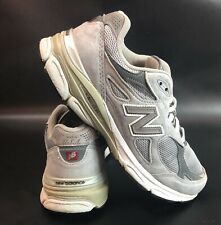 New Balance 990 Athletic Shoes Gray White M990GL3 Men's Size 9.5 2E Made In USA