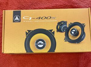 "JL AUDIO C1-400X 4"" 70W RMS CAR 2-WAY ALUMINUM TWEETERS COAXIAL SPEAKERS NEW"