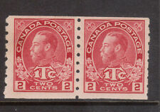Canada #MR6ii VF/NH Pair **With Certificate**