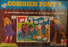 Combien font ? Initiation Nathan, 1979 - Cavahel Vintage