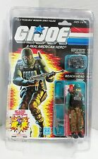 GI Joe BEACHHEAD 1986 MOC MOSC Hasbro Vintage New Factory Sealed Action Figure