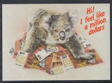 Australia Postcard - Koala Bear - I Feel Like a Million Dollars   RR2812