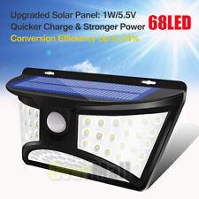 68 Solar LED Light Outdoor Garden Waterproof Wireless Security Motion 3 Side
