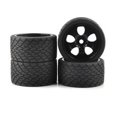 RC 4Pcs 1:8 Bigfoot Monster Truck Tires&Wheel 17mm Hex for TRAXXAS Car wide 70mm