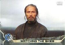 Star Wars Rogue One Series 2 Gray Base Card #2 Watching the Skies