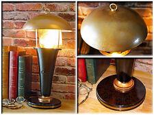 Vintage Repurposed 1930 Tortoise Shell Polaroid Upcycled Antique Desk Lamp