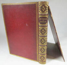 Hyperion: A Romance by Henry Wadsworth Longfellow 2nd Edition leather ca. 1859