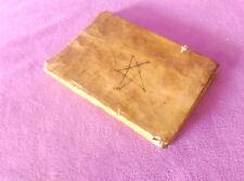 Manuscrit Original de Orencio Ardanuy Nabascues Calif. Santa Inquisicion 1696