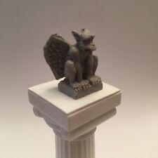 Miniature 1:12 Gothic Gargoyle Statue-Dollhouse Fantasy Myth Diorama Decoration