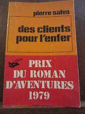 Pierre Salva: Des clients pour l'enfer/ Le Masque N°1570 Champs-Elysées