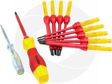12pcs 1000V Power Insulated Shielded Changeable Phillips Slotted Screwdriver Set