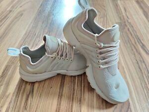 Nike Air Presto Beige Athletic Shoes