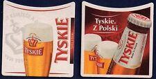 TYSKIE BEERCOASTER FROM POLAND DE15018