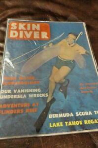 1962 December SKIN DIVER MAGAZINES - Boarded and Bagged - Vintage Scuba NR 12/62