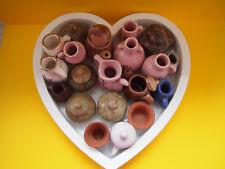 20 Miniaturen für den Setzkasten Porzellan Keramik Vasen, Krüge, Töpfe, Figuren