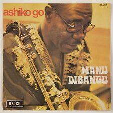 Manu Dibango – Ashiko Go / Sango Pouss Pouss FRENCH 45T Afro/Funk 7'