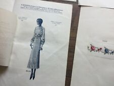 VINTAGE FABRIC SAMPLE SHEETS - H.SCHOCH
