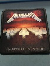 Metallica Master of Puppets Sublimated Patch 3�x3� Album Cover Rock Metal